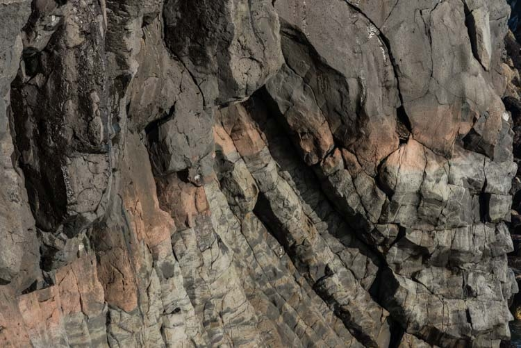 Basalt formatie bij Arnarstapi