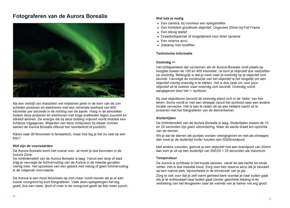 Fotograferen op IJsland - de Aurora Borealis