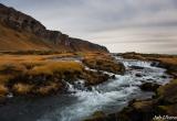 Sterke stroming in zuid IJsland