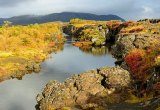 Thingvellir in herfstkleuren