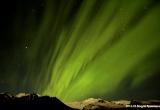 Noorderlicht boven de Vatnajokull