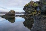 Kleifarvatn met de perfecte reflectie