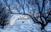 Het turfkerkje bij Hof in de sneeuw
