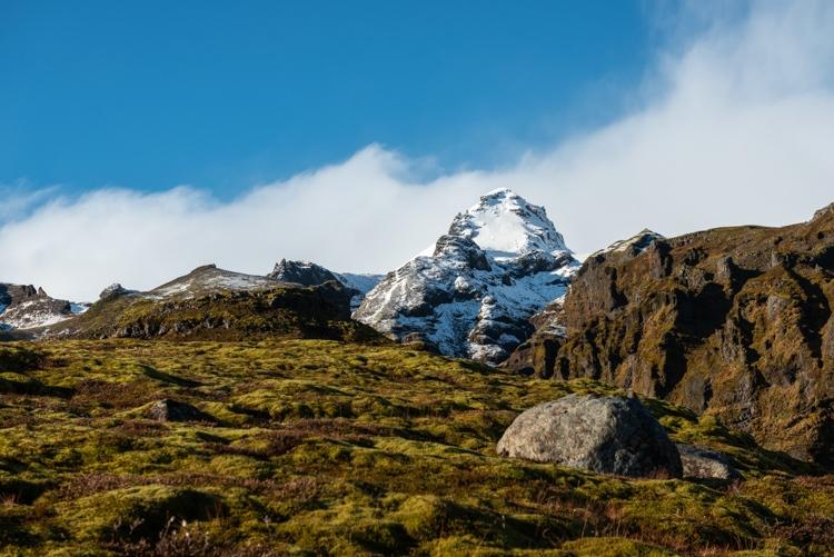 Mulagljufur bergtop