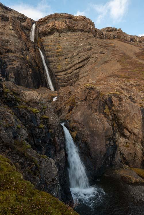 Bólstaðafoss een mooie ondergewaardeerde waterval