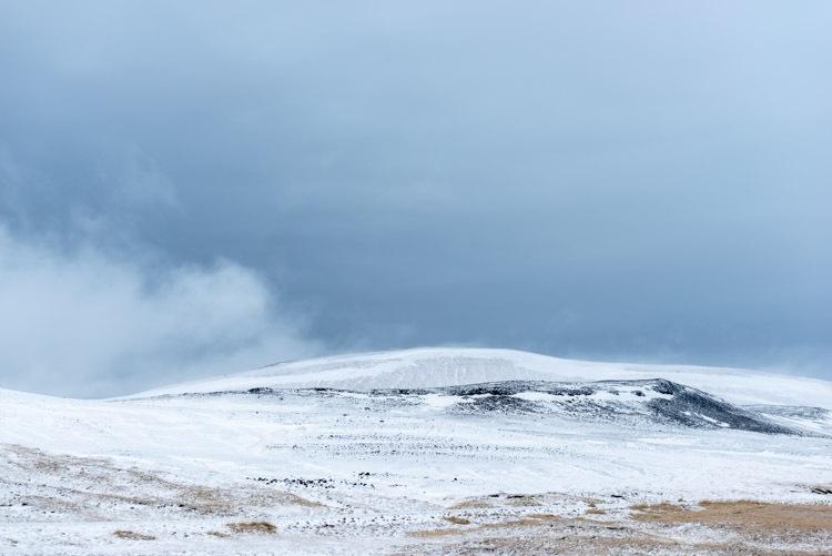 Onderweg door winters IJsland