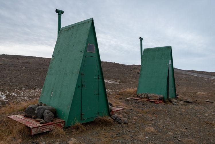 Openbare toiletten bij Aldeyjarfoss