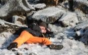 Fotograaf in positie