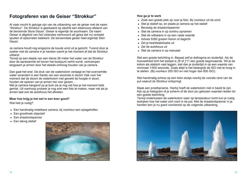 Fotograferen op IJsland - Hoe fotografeer je de Strokkur