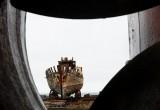 In de haven van Akranes