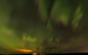 Noorderlicht bij Ensku Husin