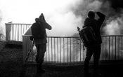 Deildartunghuhver Fotografen betrapt
