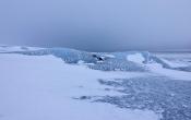 Op de top van de grootste gletsjer van Europa