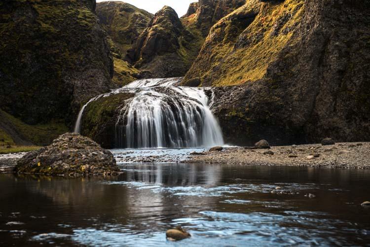 Stjornafoss, de vergeten waterval