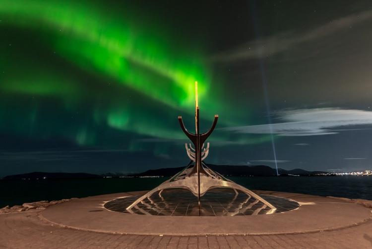 Solfar en het noorderlicht