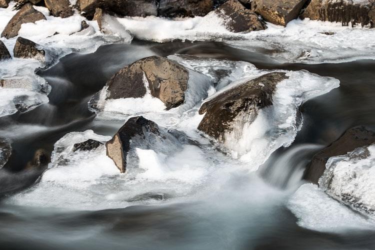 Water van de Svartifoss
