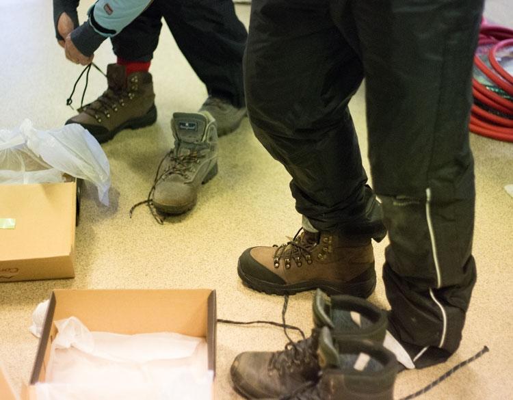 In de schoenenwinkel Pakkhúsið