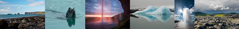 Langs de zuidkust van IJsland